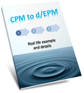 CPM to d/EPM